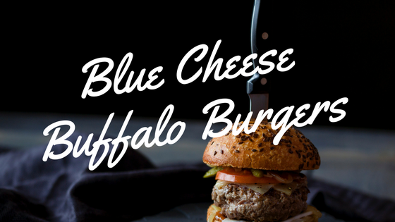 Blue Cheese Buffalo Burgers