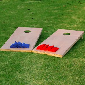 Sport Festival Regulation Size Set setup on grass