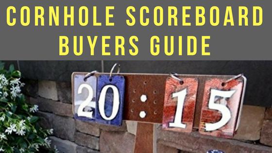 Cornhole Scoreboard Buyers Guide
