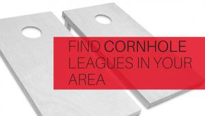 Find cornhole leagues in your area