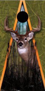 Whitetail Deer Cornhole Board Decal Wrap