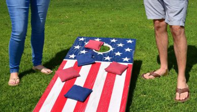 GoSports America USA Cornhole Flag Set