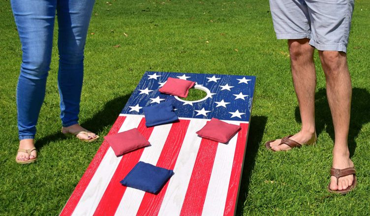 GoSports America USA Cornhole Flag Set