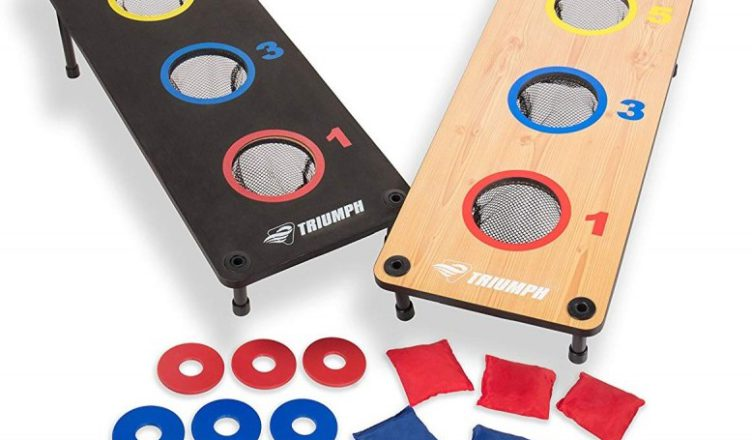 Triumph 2-in-1 Bean Bag Toss Washer Combo Game